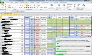 Программа для экспорта данных о рейтинге банков с сайтов рейтингов в Excel